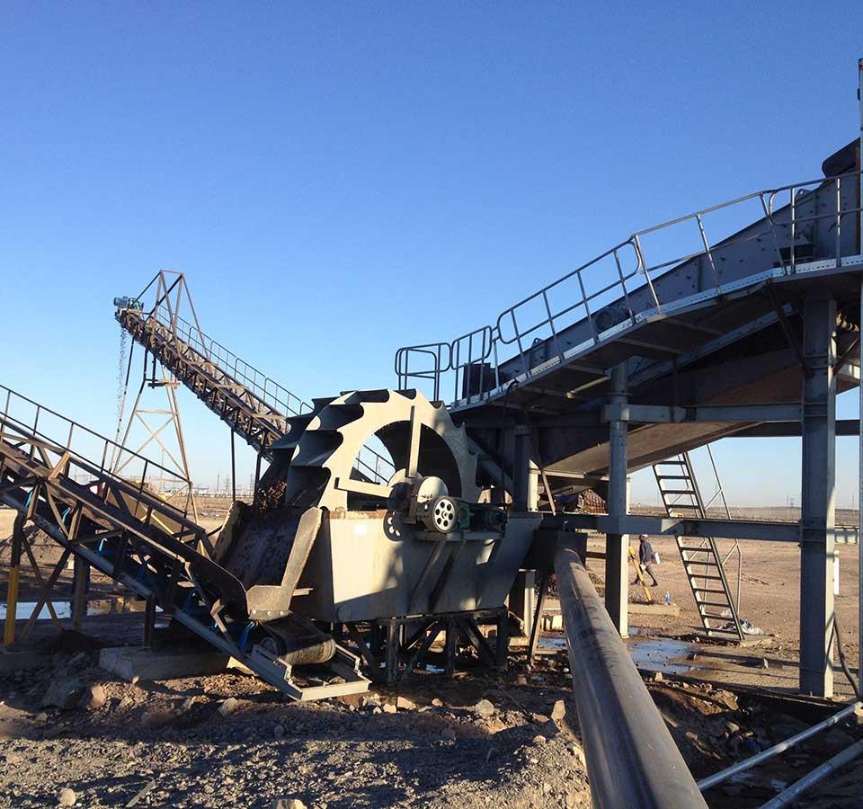 金刚砂制砂生产线