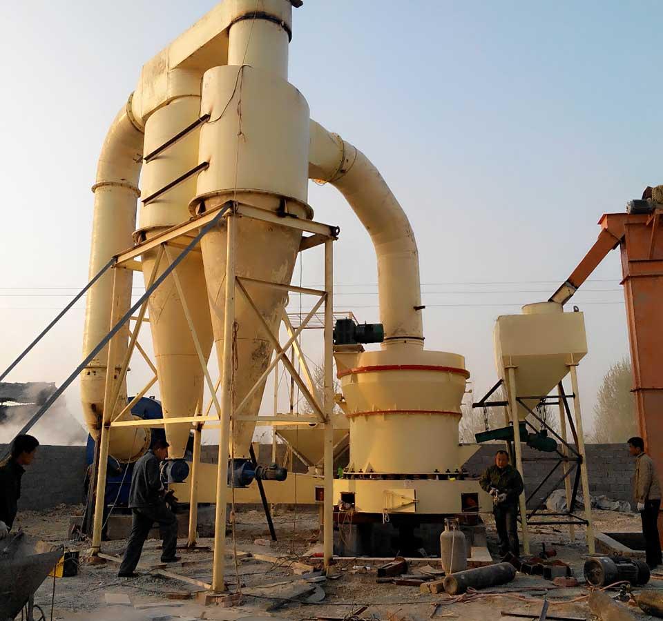 石膏磨粉生产线