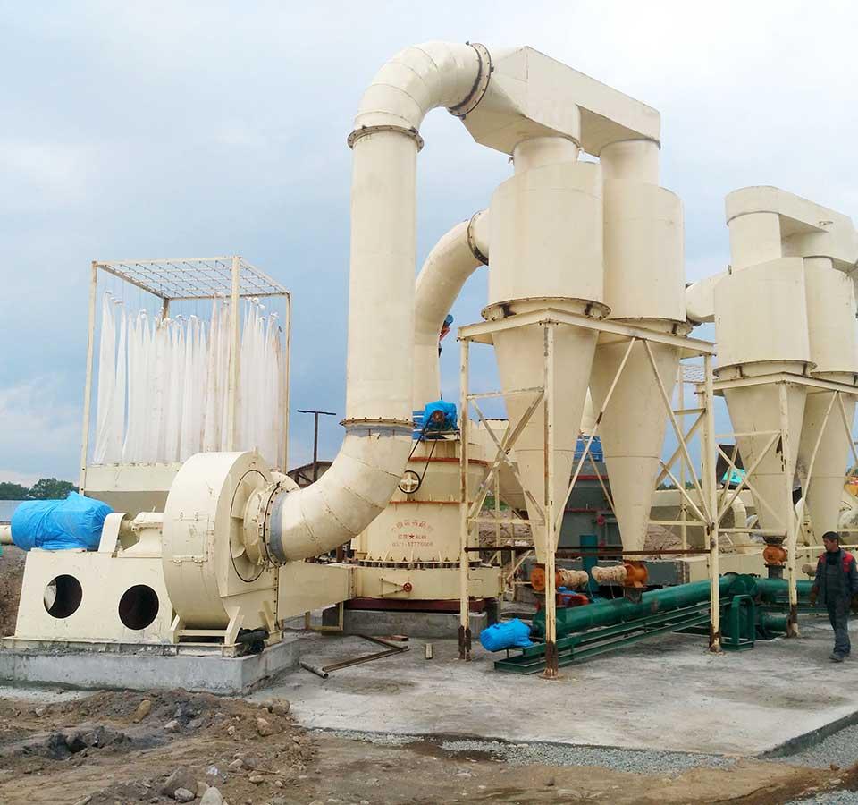 铝矾土磨粉生产线