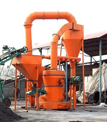 膨润土磨粉生产线