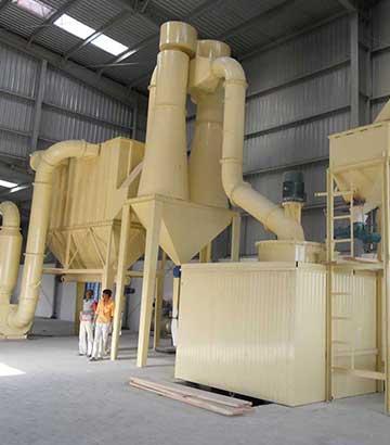 滑石磨粉生产线
