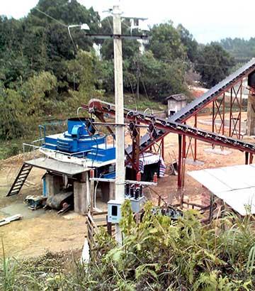 时产30_1000吨花岗岩砂石生产线
