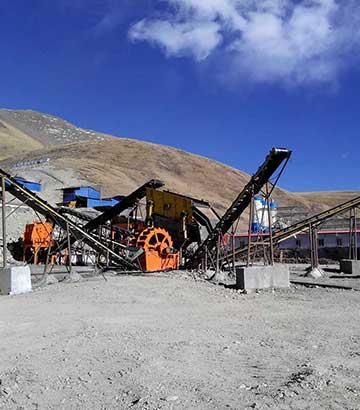 青石制砂生产线