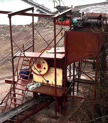 四川铁矿石生产线