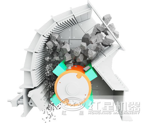 pcz型重锤式破碎机结构特点