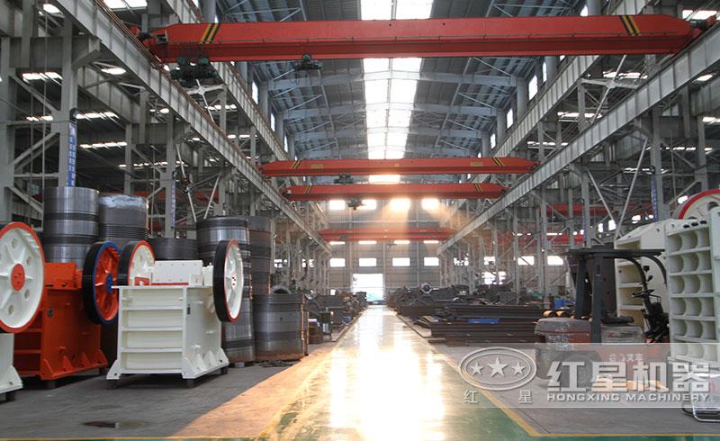 红星机器设备生产车间