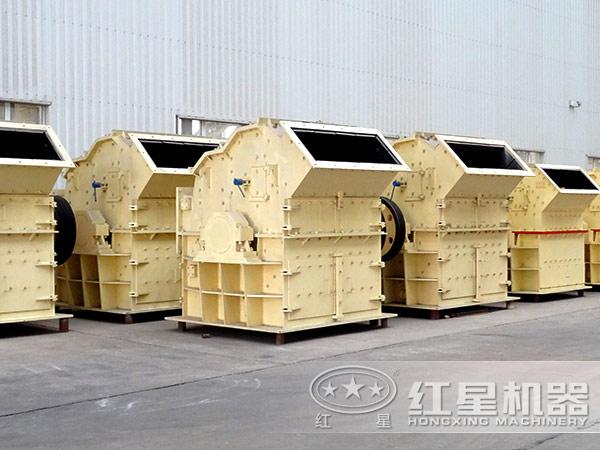 一小时产50吨煤矸石细碎机