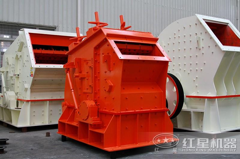 时产200吨花岗岩反击式破碎机