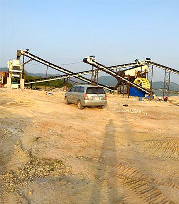 越南时产50吨机制砂生产线