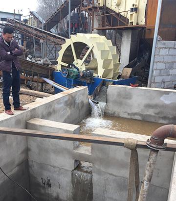河南郑州时产100吨水洗石粉生产线