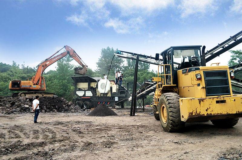山西碎煤机用户现场实拍图
