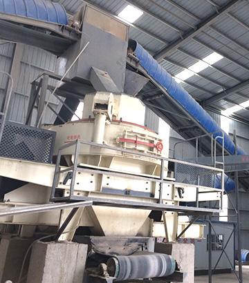 江苏徐州机制砂生产线客户现场