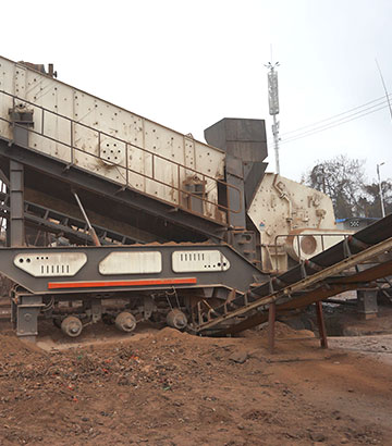 湖南移动式建筑垃圾破碎机客户生产现场