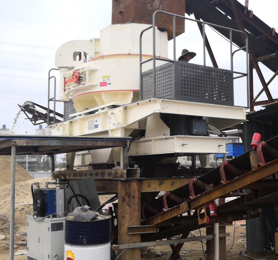 山西河卵石制砂生产线