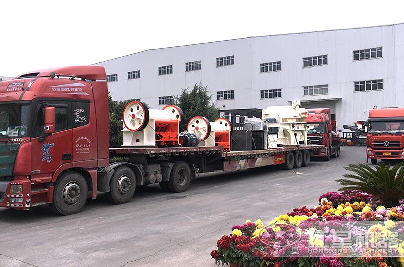 全套人造沙子机器设备发往陕西