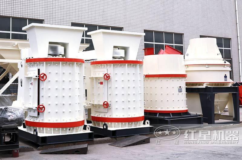 复合式破碎机可处理含水分的物料,且不会堵塞