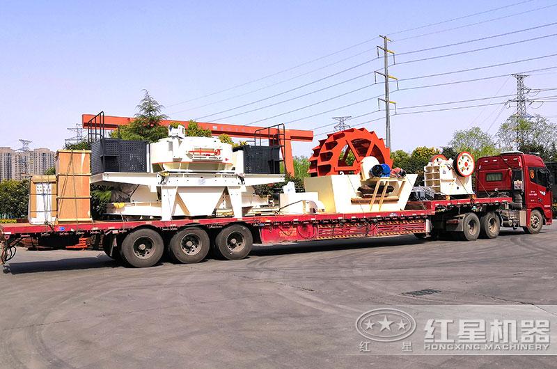 全套石头加工沙子机器发往浙江
