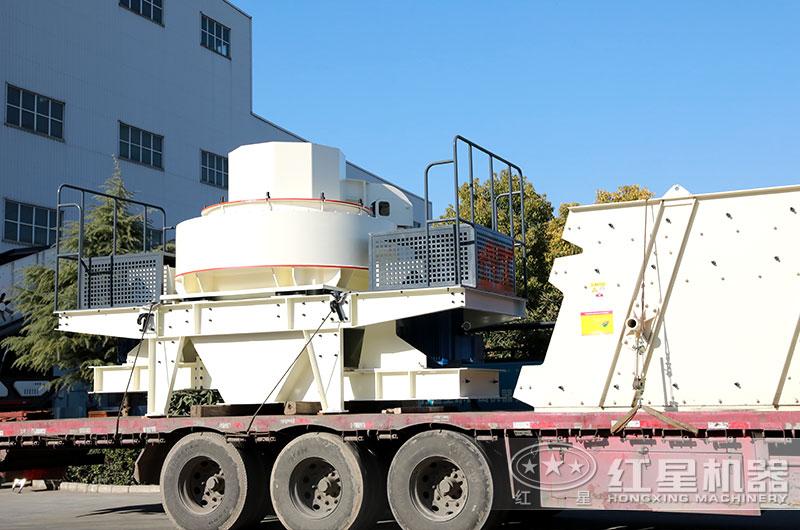 中小型制砂生产线设备发往河南许昌