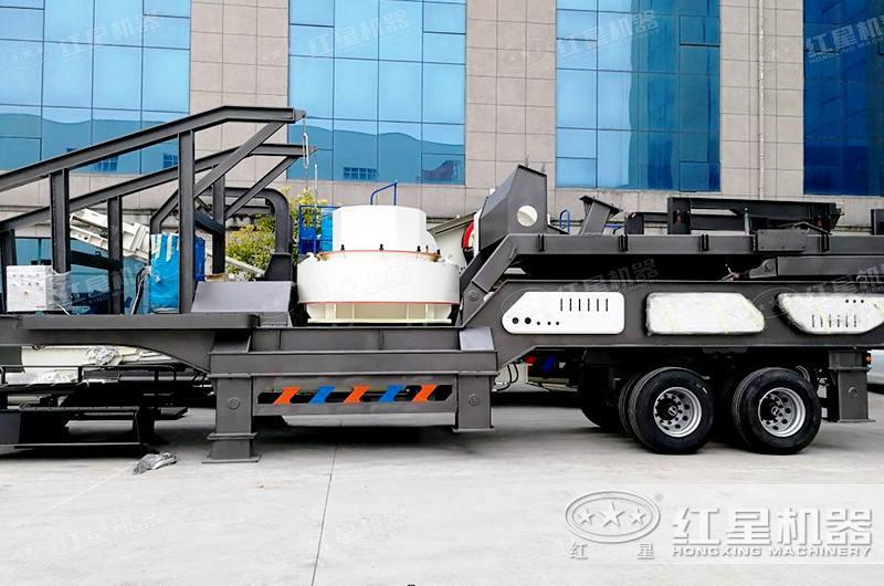 移动环保型制砂机