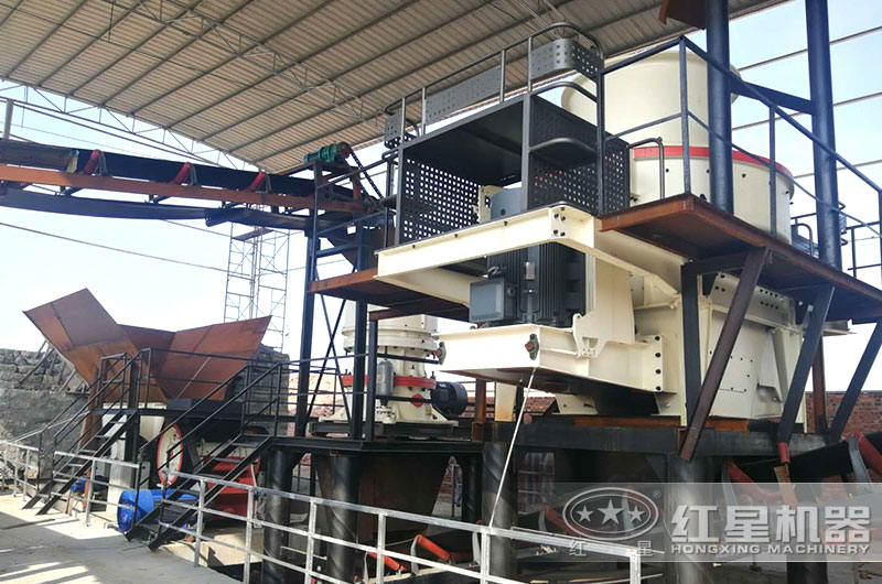 河北客户大型机制砂厂