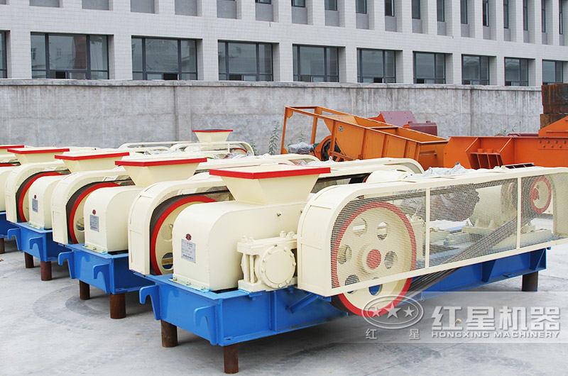 对辊式制砂机满足中小型砂厂对不同粒度的要求