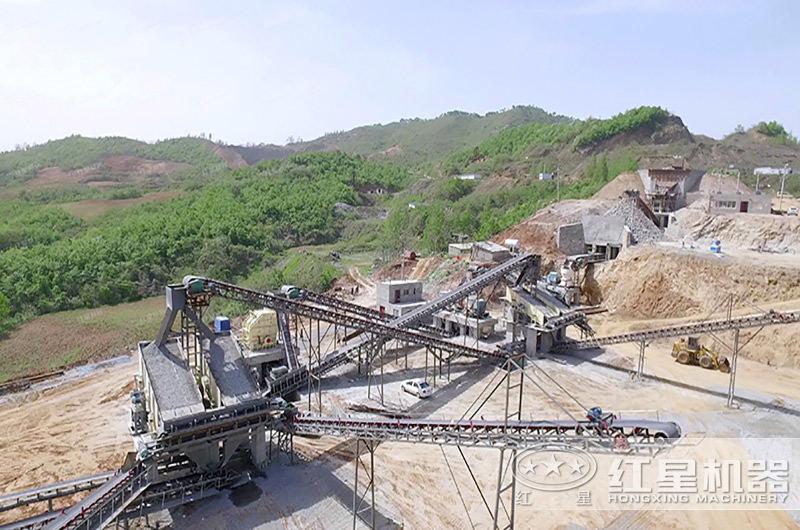 时产500吨大型沙场设备配置现场