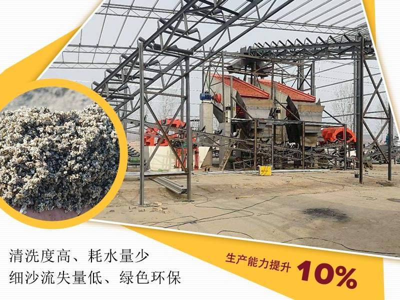 建设洗沙生产线,既能提高质量又能环保生产