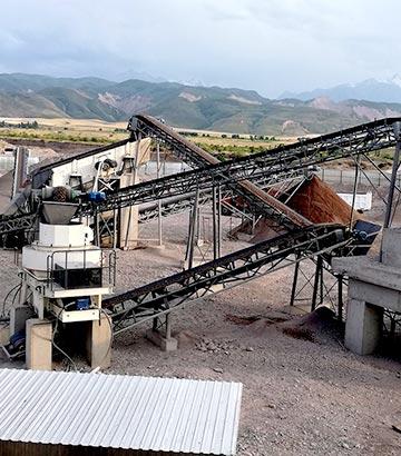 贵州鹅卵石破碎生产线