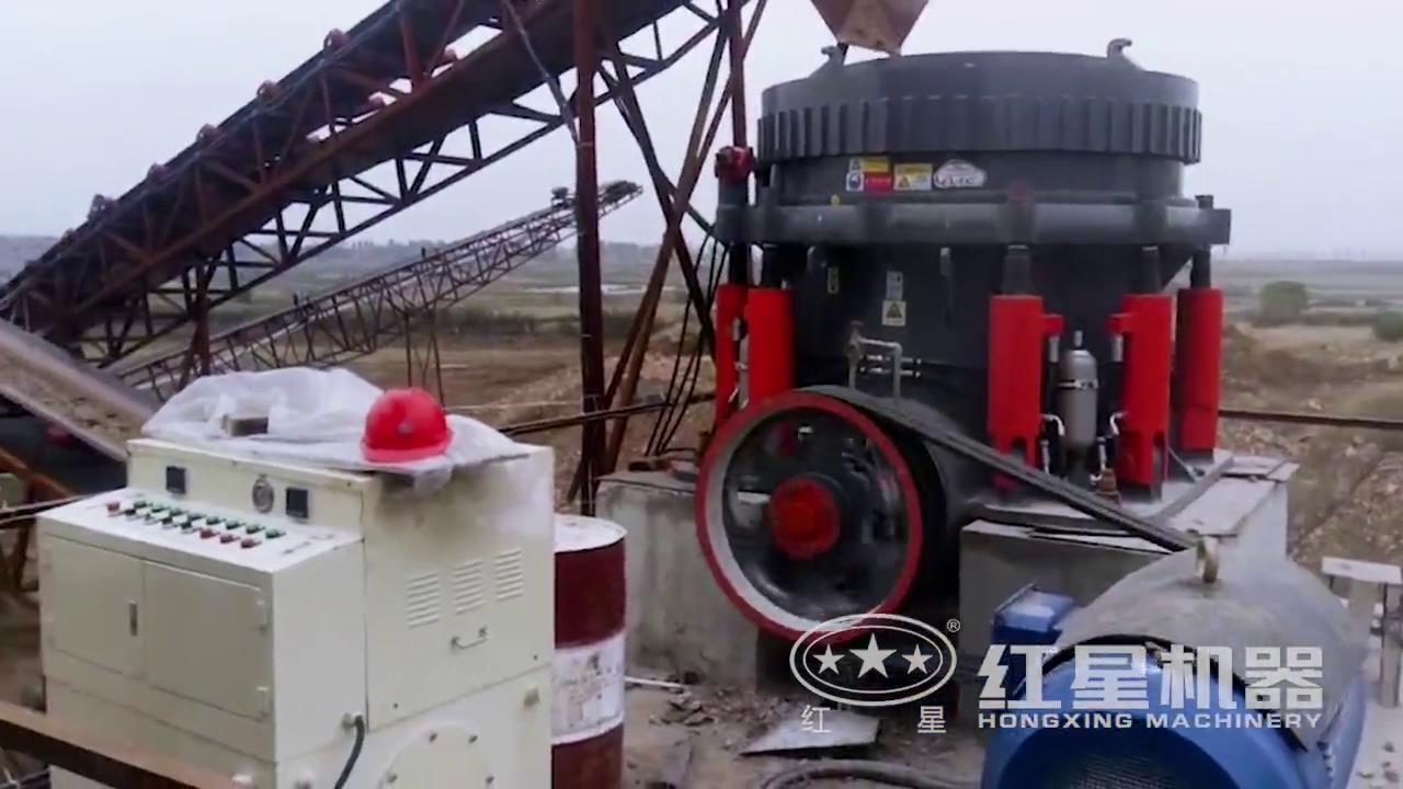石料破碎生产线视频-山东客户现场