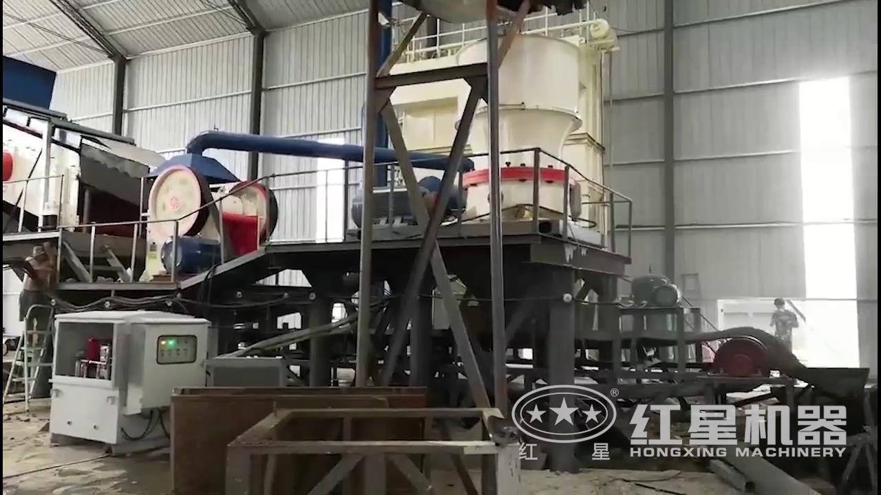 嵩县砂石生产线视频