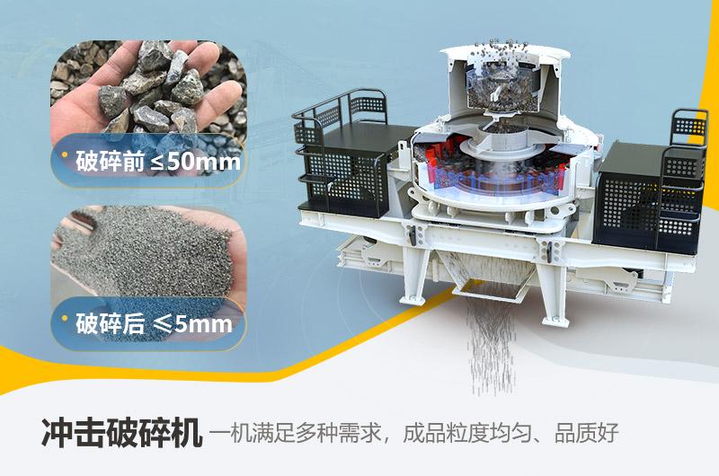 制砂机内部结构及制砂效果